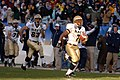US Navy 051203-N-9693M-508 Navy slot-back Reggie Campbell (7) breaks into the sunshine just prior to crossing the goal line for a touchdown during the 106th Army vs. Navy Football game.jpg
