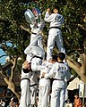 US Navy 061020-N-7498L-373 Martial artists from Republic of Korea (ROK) naval academy demonstrate their Tae Kwon Do skills to the general public.jpg