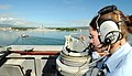 US Navy 090112-N-0879R-004 Operations Specialist 3rd Class Cassandra Roper stands starboard bridge watch.jpg