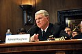 US Navy 110316-N-ZB612-047 Chief of Naval Operations (CNO) Adm. Gary Roughead testifies before the Senate Appropriations Sub-Committee for Defense.jpg