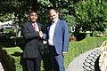 US Senate lobbyist Cary Lee Peterson & Albania Deputy MP Koco Kokedhima 4.jpg