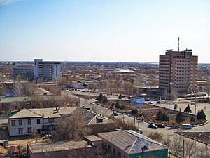 Nukus - The panoramic view of Nukus
