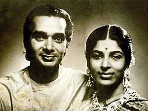 Amala Shankar - Uday Shankar and Amala Shankar in 1941