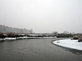 Ukraine Irpen 2010. First snow. River Irpen 3.jpg