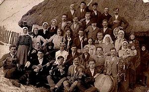 Ukrainian diaspora - Ukrainians in Austro-Hungarian Monarchy 1890, modern Prnjavor, Bosnia and Herzegovina.