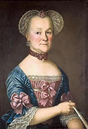 Nils Schillmark - Portrait of Ulrika Bockista by Nils Schillmark, 1780