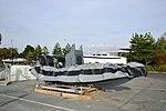 Un bateau pneumatique Zodiac dégonflé (3).JPG