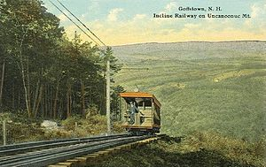 Goffstown, New Hampshire - Incline Railway c. 1914