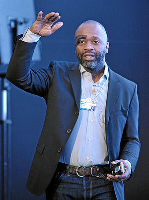 Theaster Gates - Gates at the World Economic Forum Annual Meeting in 2013