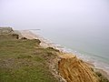 Unstable cliffs and long groyne at Hengistbury Head - geograph.org.uk - 25282.jpg