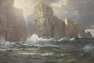 Rocky Coast (probably Cornwall)