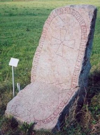 Åsmund Kåresson - Image: Uppland Rune Inscription 956