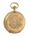Ur med boett av guld med Walther von Hallwyls monogram, 1870-tal - Hallwylska museet - 110591.tif