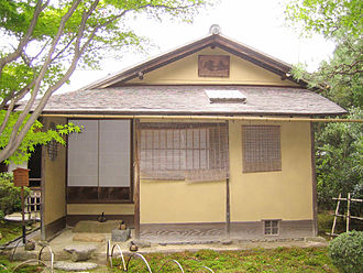 Chashitsu - The Jō-an tea house (National Treasure)