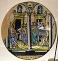 Urbino, patanazzi, cristo e l'adultera, xvii sec.JPG
