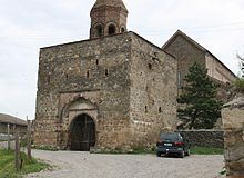 Urbnisi monastery. Entrance (Photo A. Muhranoff, 2011).jpg