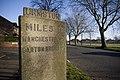 Urmston milepost bowfell lane.jpg