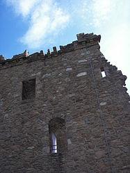 Urquhart Castle Tower outside.jpg
