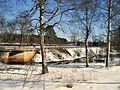 Utloppet i Svartbro, Vinter i Avesta 2009 - panoramio.jpg