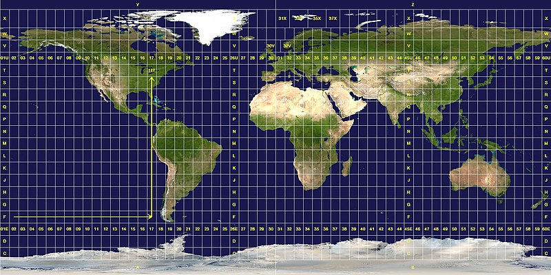 convertir coordenadas UTM a geográficas