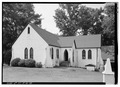 VIEW OF PARISH HOUSE FROM SOUTHEAST - Church of the Holy Cross, State Route 261, Stateburg, Sumter County, SC HABS SC,43-STATBU.V,1-37.tif