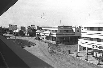 Netanya - Zion Square, Netanya, in 1939
