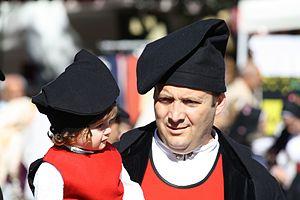 Villanova Monteleone - Traditional costumes from Villanova