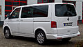 VW Multivan Business (T5, Facelift) – Heckansicht, 30. August 2014, Düsseldorf.jpg