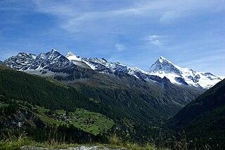 Val dHérens valley