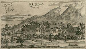 Tacen - Rocen Manor, 1679