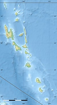 NVVI is located in Vanuatu
