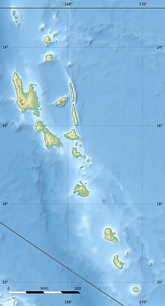 Dosiero:Vanuatu relief location map.jpg