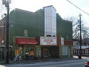 Variety Playhouse - Image: Variety Playhouse Atlanta Front Facade