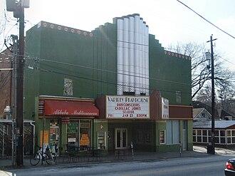 Variety Playhouse - Image: Variety Playhouse Atlanta Front Facade