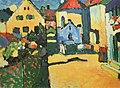 Vassily Kandinsky, 1909 - Grungasse In Murnau, München.jpg
