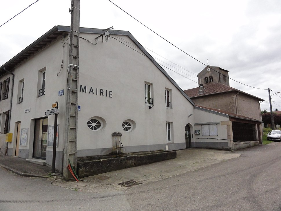 The town hall in Vaudeville