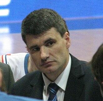 Velimir Perasović - Perasović with Cibona in 2010.