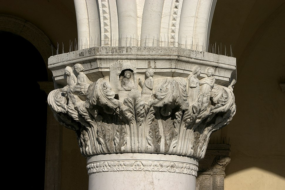 Venice - Doge's Palace – Gothic capital 03