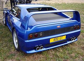 Venturi Automobiles - Venturi 400 GT rear view