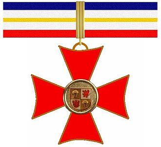 Order of Merit of Mecklenburg-Vorpommern - Image: Verdienstorden Mecklenburg Vorpommern