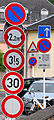 Verkéiersschëlter Stad Lëtzebuerg rue de Dormans.jpg