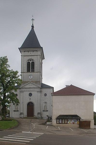 Église de Vernierfontaine (Doubs).