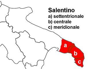 Salentino dialect - different type of dialect in Salento