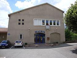 Vesseaux (Ardèche, Fr) mairie.JPG