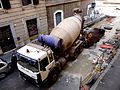 Via Nino Bixio construction - Esquilino-San Giovanni, Rome - Italy - 20 Sept. 2011.jpg