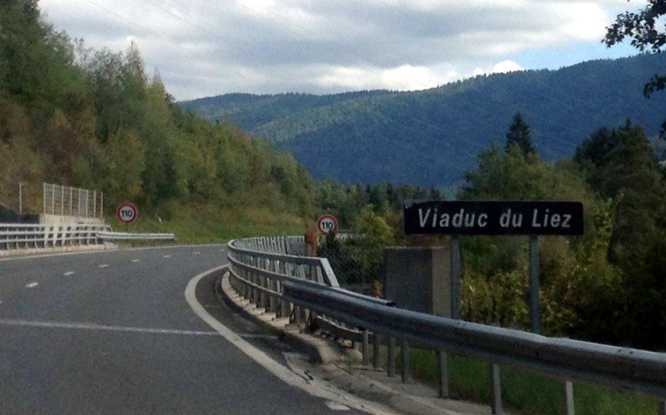 Viaduc du Liez.