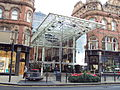 Victoria Quarter entrance, Vicar Lane, Leeds - DSC07555.jpg