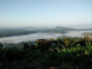 Rangamati Hill District - View over the mountains, from Sajek