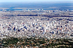 Panoramic view of Bahía Blanca