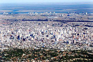 Bahía Blanca City in Buenos Aires, Argentina